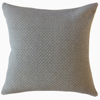 Ofek Solid Throw Pillow Gray