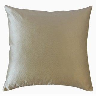 Barakit Solid Throw Pillow Cream