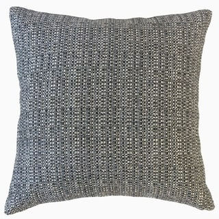 Fauve Solid Throw Pillow Granite