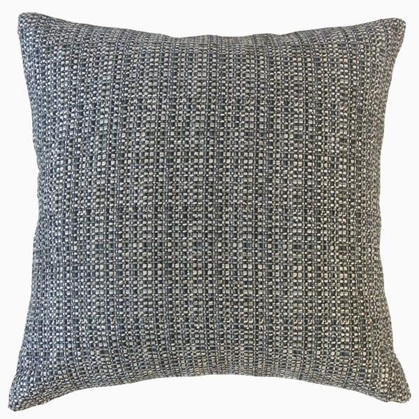 Fauve Solid Throw Pillow Granite