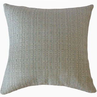 Fauve Solid Throw Pillow Mist