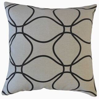 Lalage Geometric Throw Pillow Ink