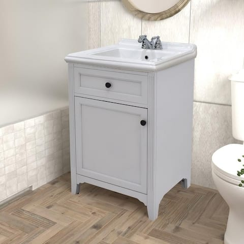 222 Fifth Hamilton Grey Bathroom Vanity