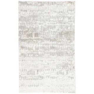 """Giffard Abstract Gray Area Rug - 8'10"""" x 11'10"""""""