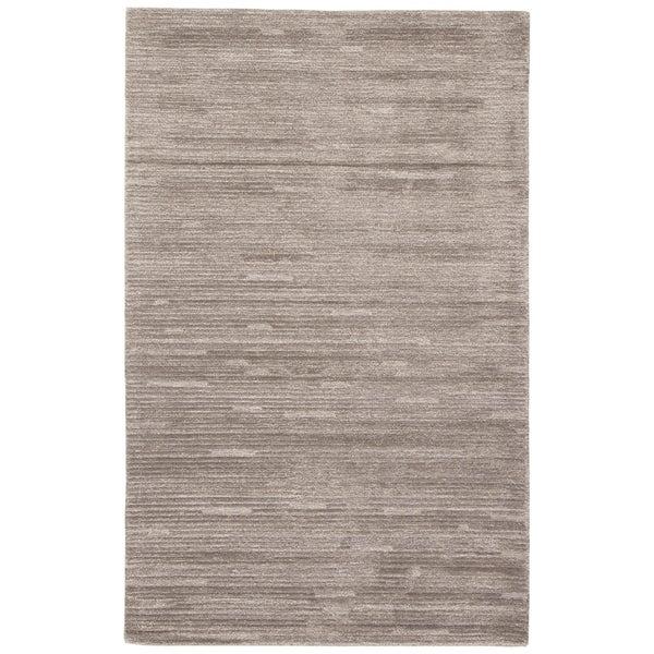 Wren Handmade Stripe Gray Area Rug - 10' x 14'