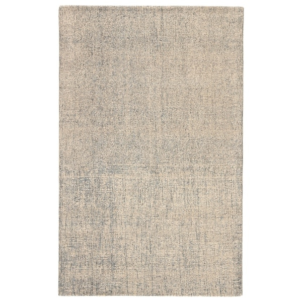 Shop Richmond Handmade Solid White Light Blue Area Rug 12 X 15