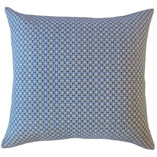Feleti Geometric Throw Pillow Harbor