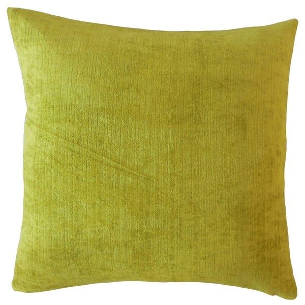 Naiser Solid Throw Pillow Chartreuse