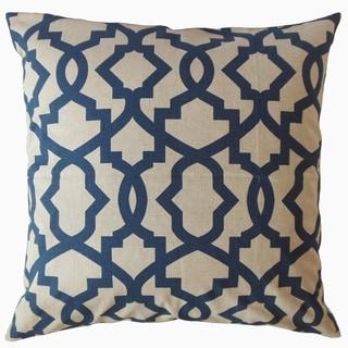 Callahan Geometric Throw Pillow Indigo