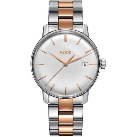 Rado Men's R22864022 'Coupole Classic' Two-Tone Stainless Steel Watch