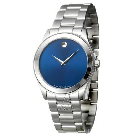 Movado Men's 0606116 'Junior Sport' Stainless Steel Watch