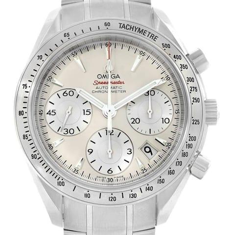 Omega Men's 323.10.40.40.02.001 'Speedmaster' Chronograph Stainless Steel Watch