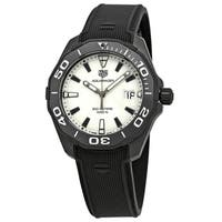 Tag Heuer Men's WAY108A.FT6141 'Aquaracer' Black Rubber Watch