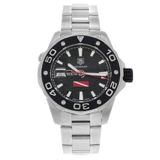 Link to Tag Heuer Men's WAJ211A.BA0870 'Aquaracer' Automatic Stainless Steel Watch Similar Items in Men's Watches