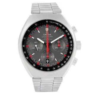 Link to Omega Men's 327.10.43.50.06.001 'Speedmaster' Chronograph Stainless Steel Watch Similar Items in Men's Watches