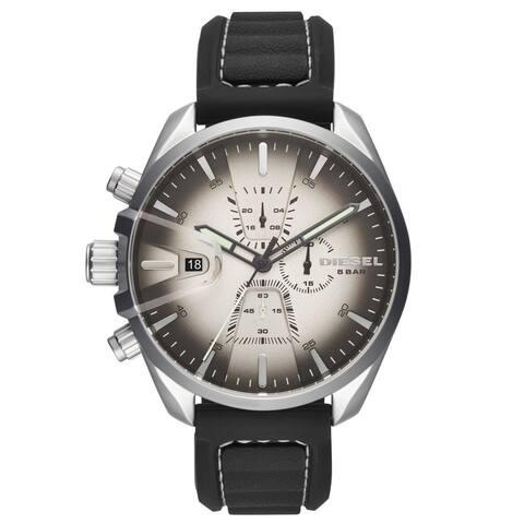 Diesel Men's DZ4483 'MS9' Chronograph Black Silicone Watch
