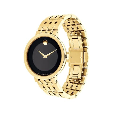 Movado Men's 0607059 'Esperanza' Gold-Tone Stainless Steel Watch