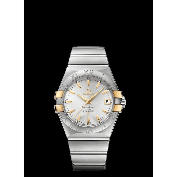 Omega Men's 123.20.35.20.02.004 'Constellation' Stainless Steel Watch. Opens flyout.