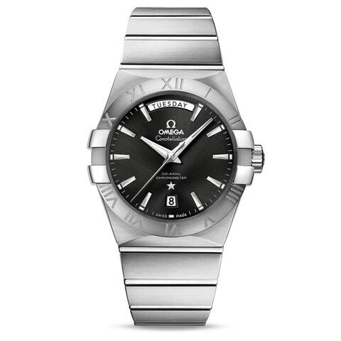 Omega Men's 123.10.38.22.01.001 'Constellation' Stainless Steel Watch