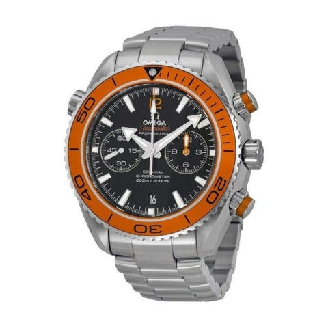 Omega Men's 232.30.46.51.01.002 'Seamaster Planet Ocean' Chronograph Stainless Steel Watch