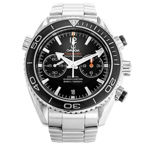 Omega Men's 232.30.46.51.01.001 'Seamaster Planet Ocean' Chronograph Stainless Steel Watch