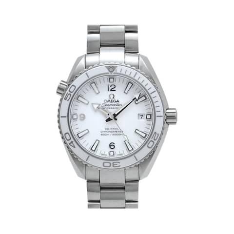 Omega Men's 232.30.42.21.04.001 'Seamaster Planet Ocean' Stainless Steel Watch