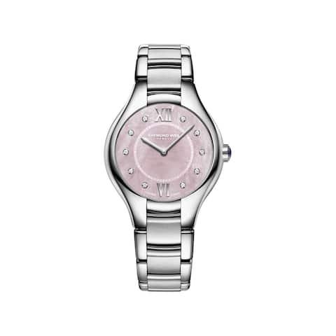 Raymond Weil Women's 5132-ST-00986 'Noemia' Diamond Stainless Steel Watch