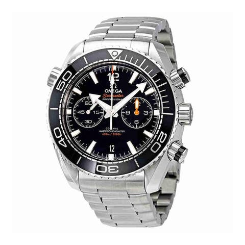 Omega Men's 215.30.46.51.01.001 'Seamaster Planet Ocean' Chronograph Stainless Steel Watch