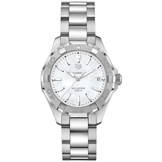 Link to Tag Heuer Women's WBD131A.BA0748 'Aquaracer' Stainless Steel Watch Similar Items in Women's Watches