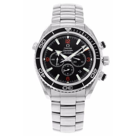 Omega Men's 2210.51.00 'Seamaster Planet Ocean' Chronograph Stainless Steel Watch