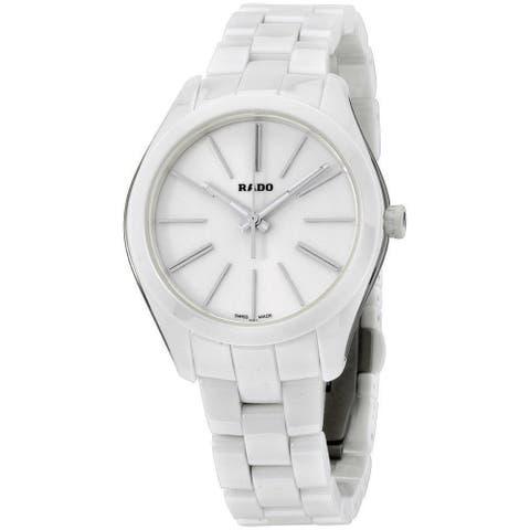 Rado Women's R32321012 'HyperChrome' White Ceramic Watch