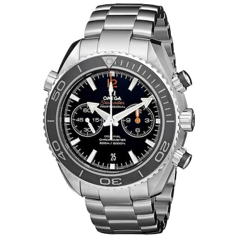 Omega Men's 232.30.46.51.01.003 'Seamaster Planet Ocean' Chronograph Stainless Steel Watch