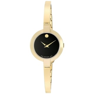 Link to Movado Women's 0606999 'Bela' Gold-Tone Stainless Steel Watch Similar Items in Women's Watches