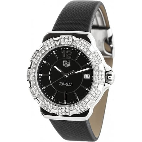 Tag Heuer Women's WAH1217.FC6218 'Formula 1' Black Fabric Watch