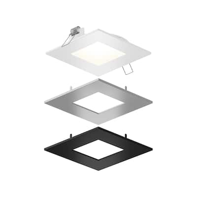 """DALS 4 inch Square LED Panel Light - 4"""""""