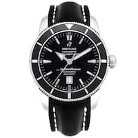 Breitling Men's A1732024-B868-441X 'Superocean Heritage 46' Black Rubber Watch
