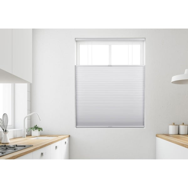 Arlo Blinds White Light Filtering Top Down Bottom Up Deluxe Cellular Shade