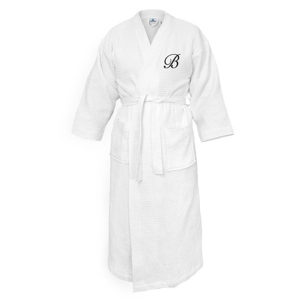 Shop Kaufman - Terry Cloth Bathrobes 100% Cotton-INITIALS Embroidered  Waffle Kimono - Free Shipping Today - Overstock - 27388880 95f13ab72
