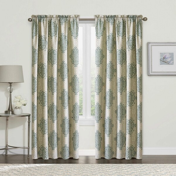 "Serenta Chelsea Printed 2 Piece Curtain Set - 60"" x 84"""