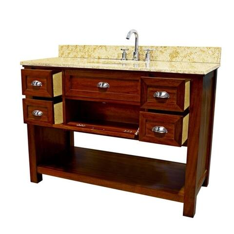 222 Fifth Nelson Brown Bathroom Vanity
