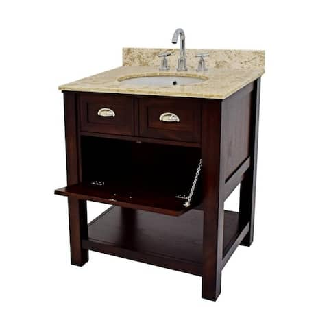 222 Fifth Stenton Brown Bathroom Vanity