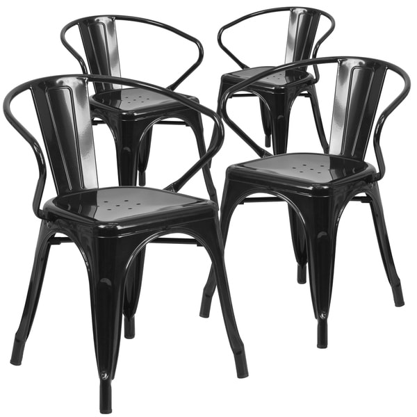 Shop Metal Outdoor Chair With Arms On Sale Free