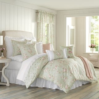 Five Queens Court Lorraine Floral 100% Cotton Comforter Set