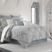 Five Queens Court Amelia 100% Cotton Jacquard Comforter Set