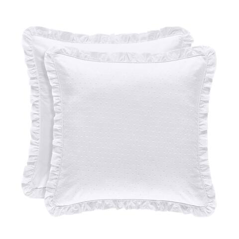 Five Queens Court Lorraine Floral 100% Cotton Euro Sham