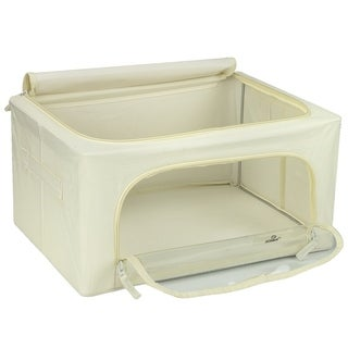 Storage Box with Window,Small-2 Pack