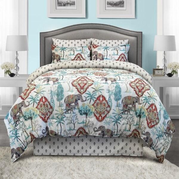 Veratex Ravina Boho Reversible Bed in A Bag Set