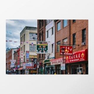 Noir Gallery Philadelphia Chinatown Urban Photography Unframed Art Print/Poster