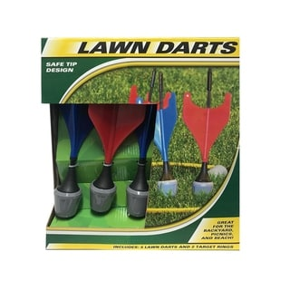 """Link to Lawn Darts - Blue - 3.7""""Lx3.7""""Wx11""""H Similar Items in Outdoor Play"""