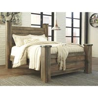 Trinell Rustic Poster Bed